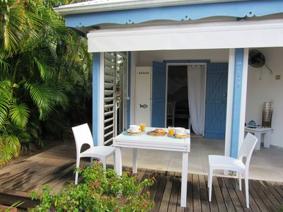 Photo for Gîte Nutmeg - 5 people, swimming pool, lagoon 150 meters
