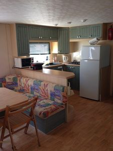 Photo for Camping Odalys Les Dunes **** spacious mobilhome 3 bedrooms