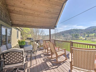 Photo for NEW! Chic Asheville Retreat w/ Game Room & Views!