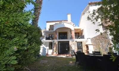 Photo for 6 bedroom Villa, sleeps 15 with Air Con, FREE WiFi and Walk to Beach & Shops