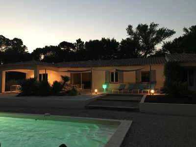 "Photo for Top villa ""a la mode"" with pool and 4 double bedrooms - in Ramatuelle / Vidauban"