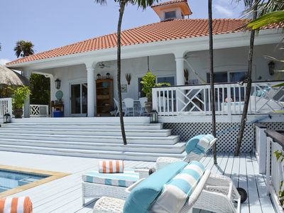 Photo for West Bay, Oceanfront Villa with Infinity Pool