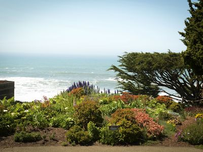 Photo for Stylish Cottage at Wrights Beach  - Views of Ocean, Gardens and Rolling Hills