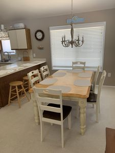 Dining room - open concept