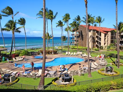 Photo for $129 May Special Ocean View Papakea Ocean Front Resort N Kaanapallii, West Maui