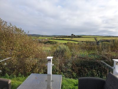 Photo for Private caravan on  large plot with beautiful views on a small, peaceful site