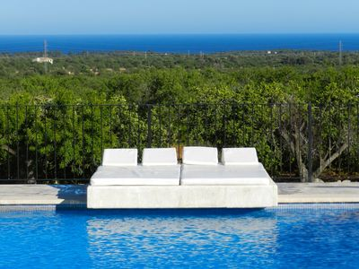 Photo for LUXURY VILLA WITH DISTANT SEA-VIEWS AND PRIVATE POOL