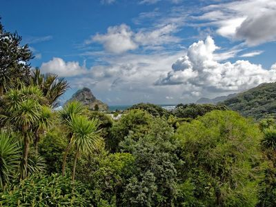 Views of Lion Rock and the ocean
