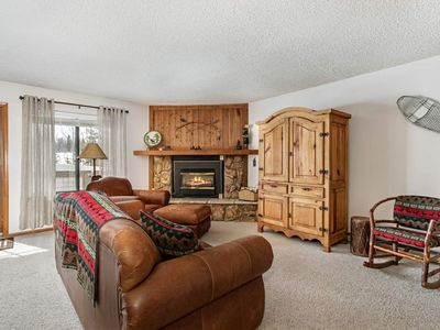 Photo for New! Breathtaking Views of Buffalo Mountain, Peak 1 and 10 Mile Range! Steam Shower and Jetted Tub