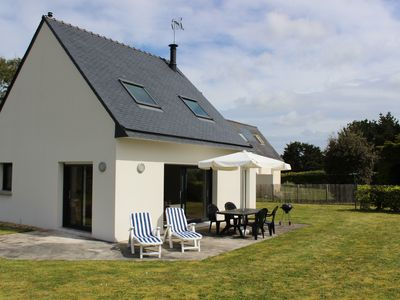 Photo for Recent house nearby the forefront of Trevignon Beach on foot