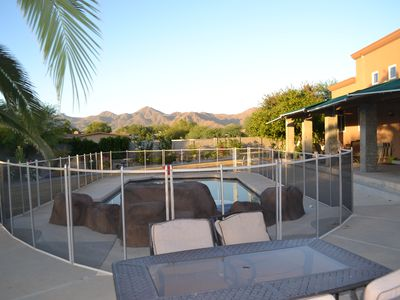 Photo for Desert Estate Oasis with HEATED POOL & Kid's Splash Pad!