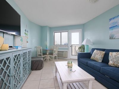 Photo for Gorgeous Newly Renovated 1bd Oceanview on the Beach in Myrtle