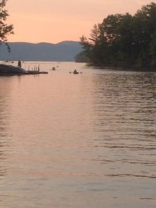 Photo for Sacandaga Lake access, canoe/kayaks, private yard, 1/2 hr. to Saratoga