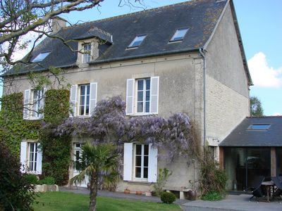 Photo for Le Clos Poulain, Mathilde Suite up to 5 people at the gates of Bayeux