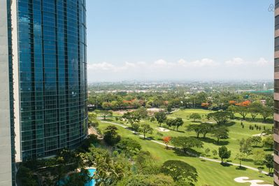 View to Manila golf course, Newport and NAIA