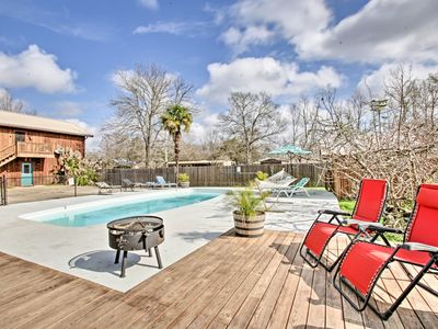 Photo for NEW-Waterfront Breaux Bridge Home w/Pool & Hot Tub