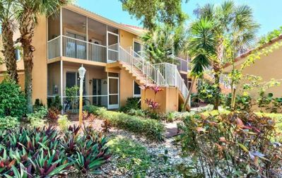 Highly sought after first floor end unit.