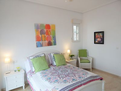 Photo for Large terrace, all day sunshine, 3 Minute Walk From Villamartin Plaza