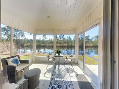 Photo for Waterside 3BR in Coveted Gated Community w/ Pools & Tennis - 5 Mins. to Beach