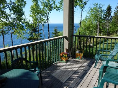 Photo for Lake Superior Clifftop Townhome With Stunning Views
