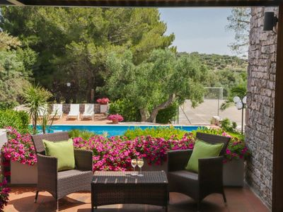 Photo for VILLA MARISCO immersed in the nature, with private pool