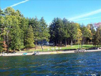 Photo for 8/18/19  is open Maine Lake Compound three homes on the lake
