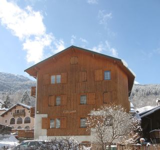 Photo for MERIBEL APPART 6/8 PERS. IN VILLAGE LES ALLUES AT 400 M MECHANICAL LIFTS