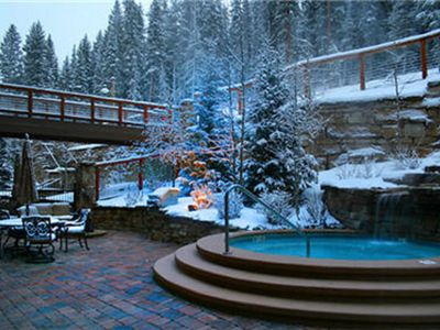 Photo for Luxury 5 star Ski-In/Ski-Out Condo, Slope side hot tub/pool, Worry-Free Booking!