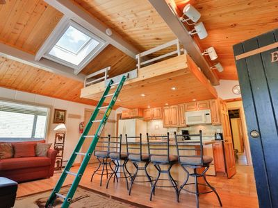 Photo for Slopeside Condo at Sunlight Mountain Resort - One Bedroom with Loft. 1 Queen Bed in Bedroom, 1 Queen
