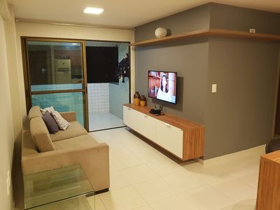 Photo for Beautiful 2 Bedroom Apartment in Ponta Verde!