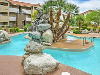 Photo for Las Vegas Condo w/Patio, Pool & Gym-5 Min to Strip