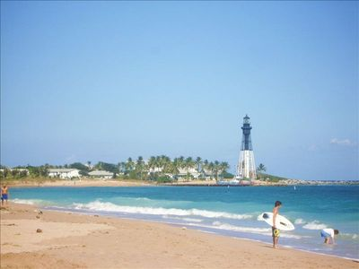View of Pompano Beach and Lighthouse
