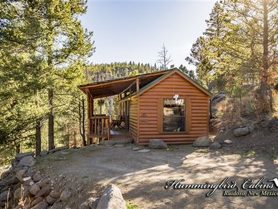 Photo for Hideout Cabin: 'Perfect couples Hideout' With hot tub.