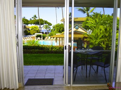 Photo for **FALL*SEPT 11-OCT9*$125nt** Ground Floor Unit w/ Ocean View