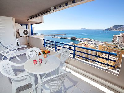 Photo for Apartment Turquesa Beach 03 in Calpe/Calp - 2 persons, 1 bedrooms