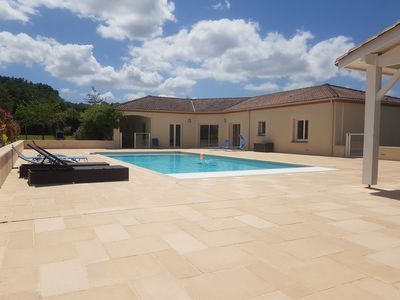 Photo for Tranquility sun pool lot and garonne