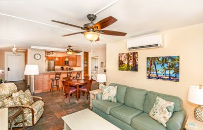 Photo for Sunny and Bright end unit across from Kamaole Beach Park II
