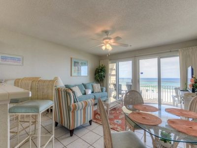 Photo for 2nd Floor Gulf Front Condo, Complimentary Beach Equipment, Nearby Shops & Dining