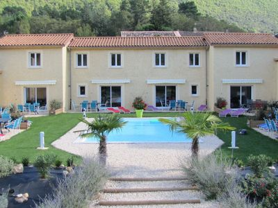Photo for Elegant Holiday Home in Gagnières with Swimming Pool