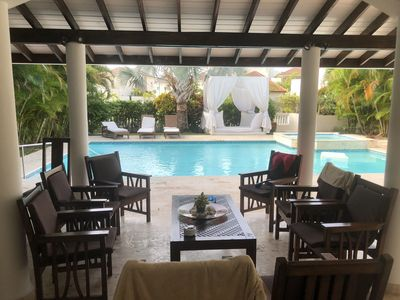 Photo for 4BR Luxury Villa + VIP All-Inclusive (Chef/Daily Stocked Bar/Maid & More!)