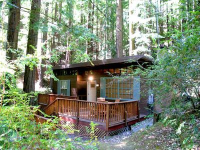 Photo for CAZADERO HEAVEN: Towering Redwoods | Hot Tub | Fireplace | Walk to Creek