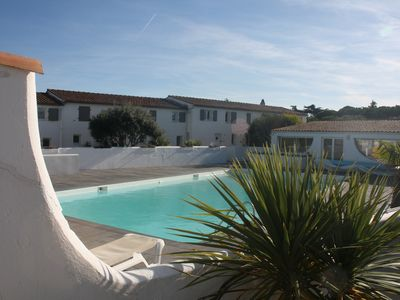 Photo for Ile de Re - VILLA *** - 50m beach- HEATED POOL