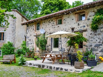 Photo for beautiful renovated mill with large garden, terrace and swimming pool.