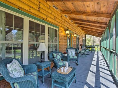 Photo for Luxury Log Cabin - 7 Miles from Downtown Asheville