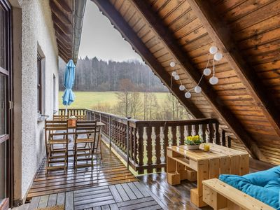 Photo for Alluring Apartment in Schönsee with Garden