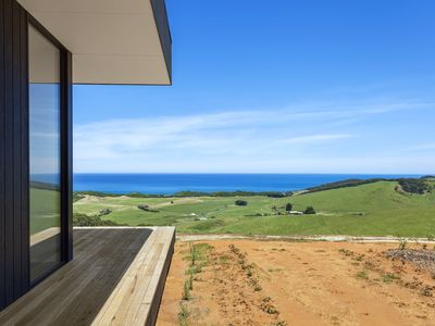 Photo for Perched high on a hill top, a commanding post with stunning ocean views