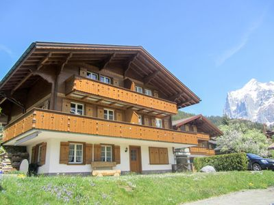 Photo for Apartment Chalet Mittelhorn in Grindelwald - 6 persons, 2 bedrooms
