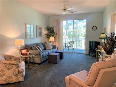 Photo for Pet friendly condo just minutes from the beach!