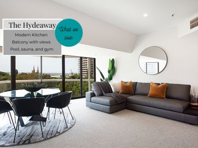 Photo for HYDEAWAY, LUXE CITY APARTMENT CORONA DISCOUNTS - HYDEAWAY, LUXE CITY APARTMENT CORONA DISCOUNTS