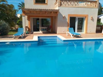 Photo for Holiday house Portocolom for 8 persons with 4 bedrooms - Holiday house